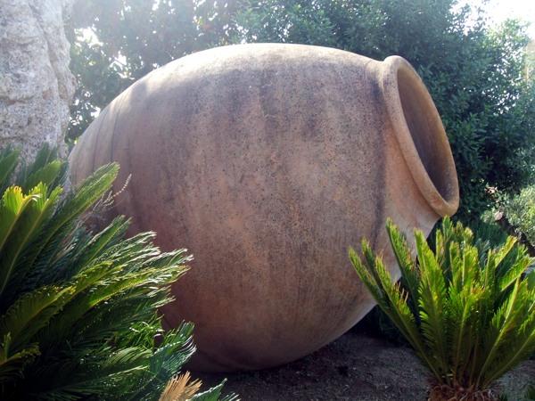 Anfore ulivi secolari piante e giardini import export di for Anfore terracotta da giardino