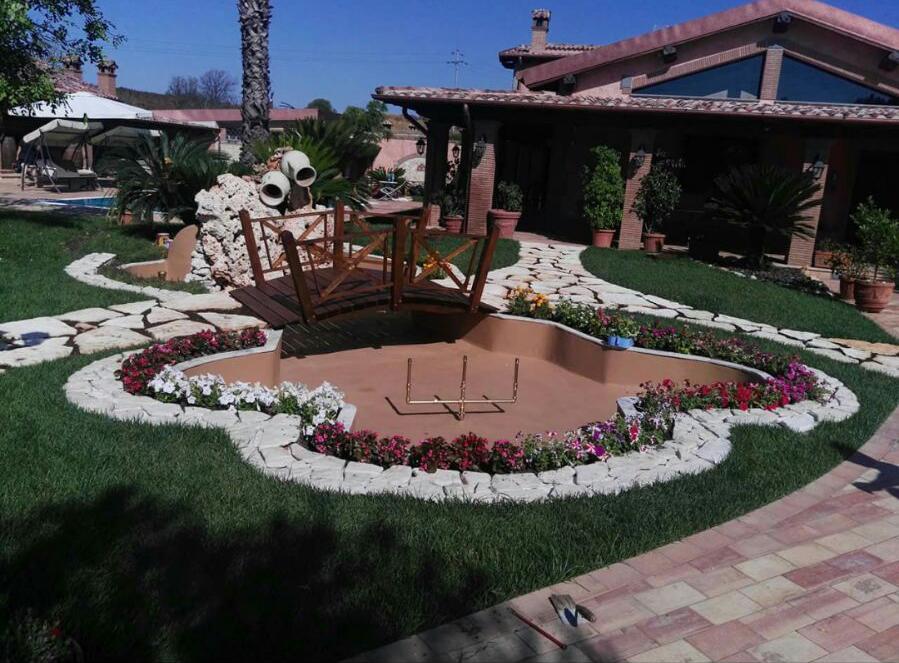 Progettare Il Giardino Da Soli : Progettazione giardini ulivi secolari piante e giardini import